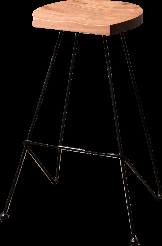 Sensational J N Rusticus Zen Welles Bar Stool With D Shaped Natural Wood Ibusinesslaw Wood Chair Design Ideas Ibusinesslaworg